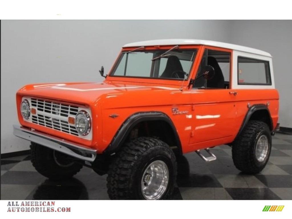1966 Bronco Utility - Orange / Black photo #1