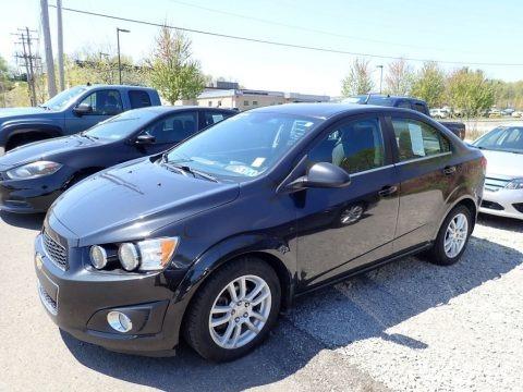 Black Granite Metallic 2013 Chevrolet Sonic LT Sedan