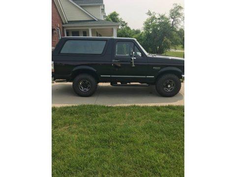 Black 1995 Ford Bronco XLT 4x4