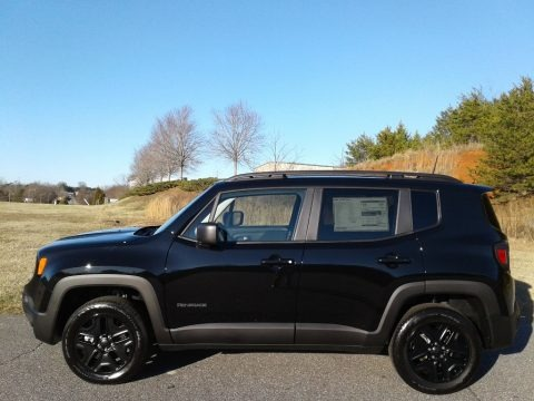 Black 2020 Jeep Renegade Sport 4x4