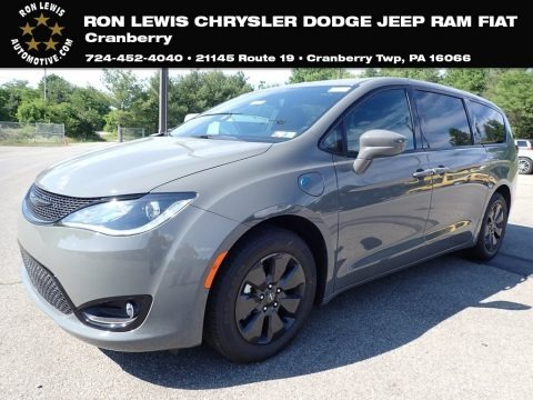 Ceramic Grey 2020 Chrysler Pacifica Hybrid Touring L