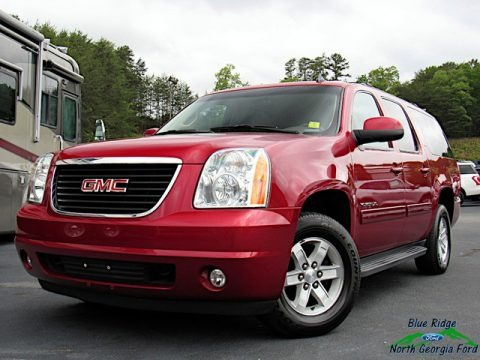 Crystal Red Tintcoat 2013 GMC Yukon XL SLT