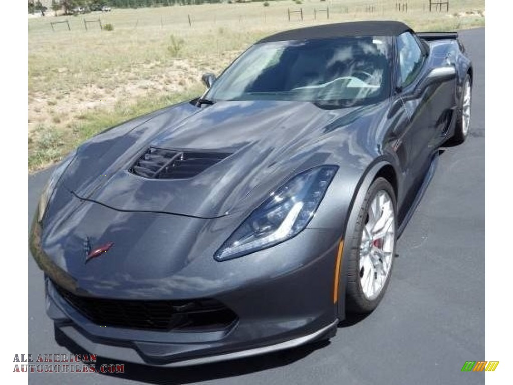 Watkins Glen Gray Metallic / Gray Chevrolet Corvette Z06 Convertible