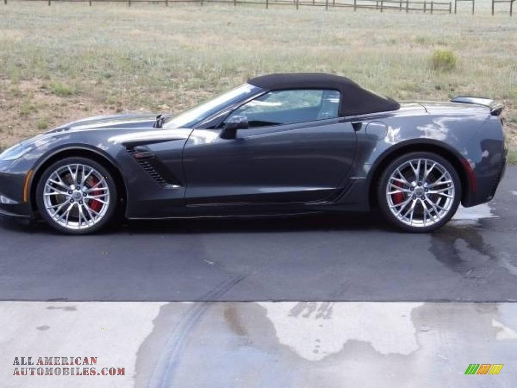 2018 Corvette Z06 Convertible - Watkins Glen Gray Metallic / Gray photo #12