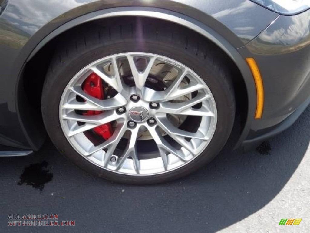 2018 Corvette Z06 Convertible - Watkins Glen Gray Metallic / Gray photo #13