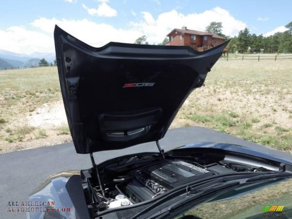 2018 Corvette Z06 Convertible - Watkins Glen Gray Metallic / Gray photo #15