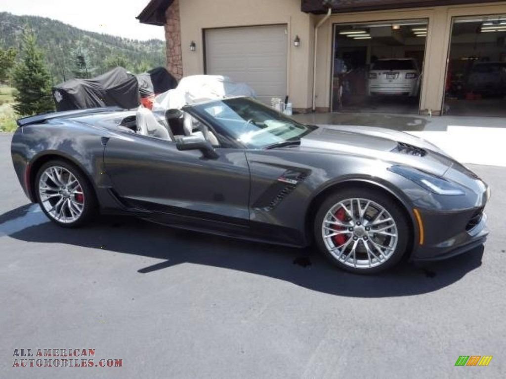 2018 Corvette Z06 Convertible - Watkins Glen Gray Metallic / Gray photo #20