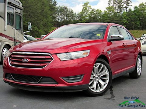 Ruby Red Metallic 2013 Ford Taurus Limited