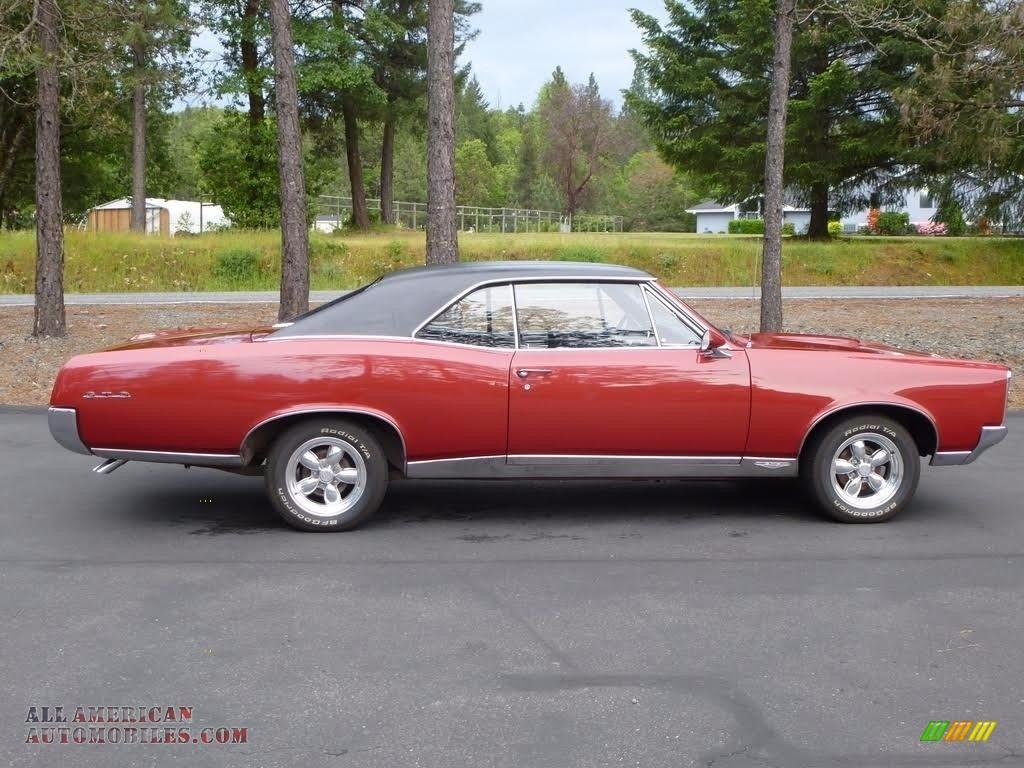 1967 GTO 2 Door Hardtop - Red / Black photo #1