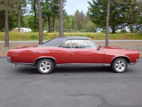 Red 1967 Pontiac GTO 2 Door Hardtop
