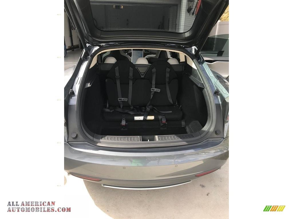 2013 Model S 85 - Grey Metallic / Grey photo #7
