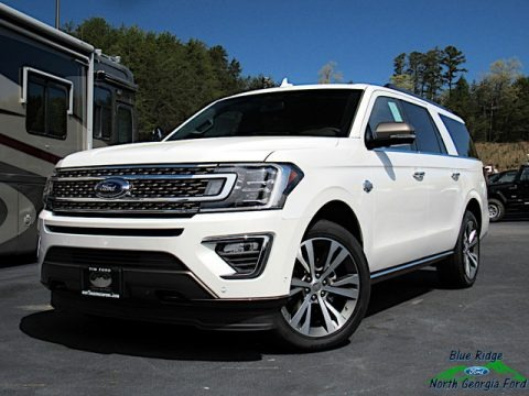 Star White 2020 Ford Expedition King Ranch Max 4x4