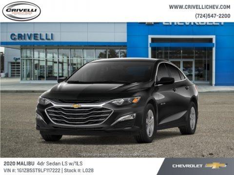 Mosaic Black Metallic 2020 Chevrolet Malibu LS