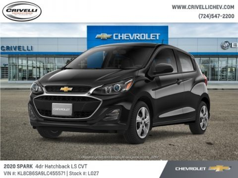 Mosaic Black Metallic 2020 Chevrolet Spark LS
