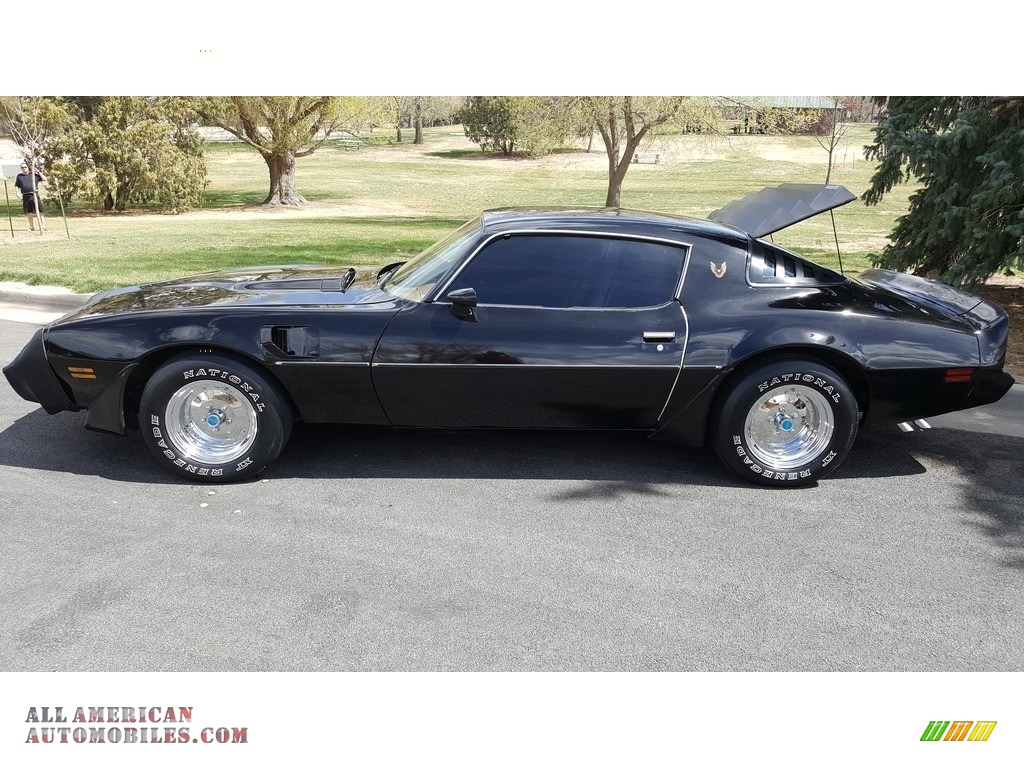 1980 Firebird Turbo Trans Am - Starlight Black / Camel Tan photo #1