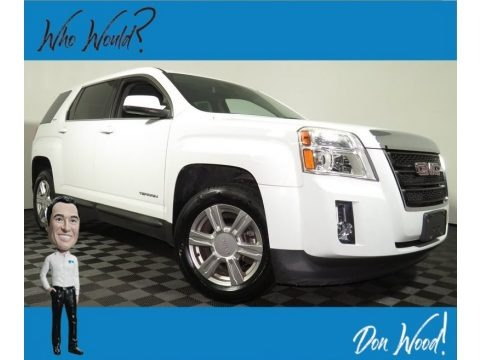 Summit White 2014 GMC Terrain SLE