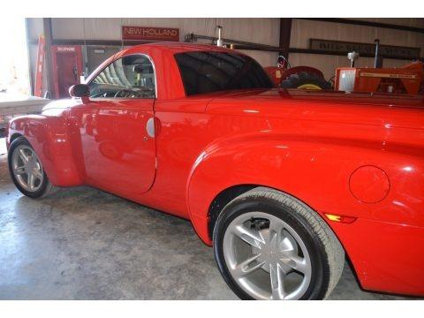 Redline Red 2004 Chevrolet SSR