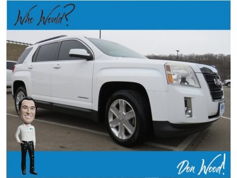 Summit White 2010 GMC Terrain SLE AWD