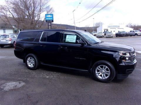 Black 2020 Chevrolet Suburban LS 4WD