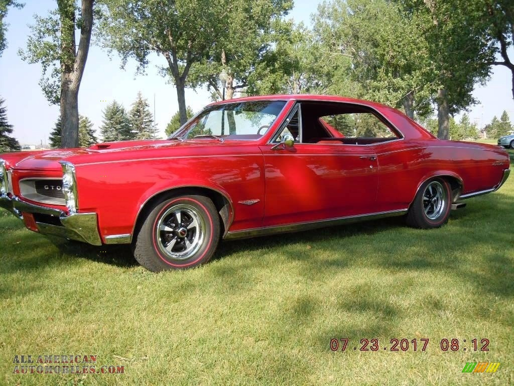 1966 GTO Hardtop - Montero Red / Red photo #1