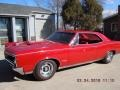 Pontiac GTO Hardtop Montero Red photo #3