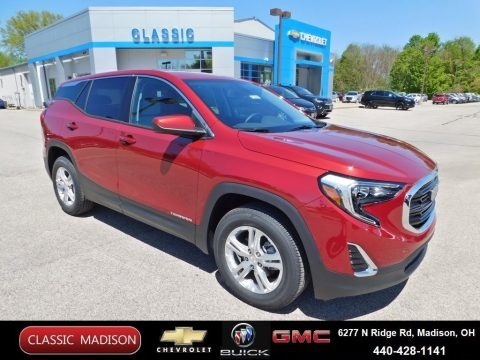 Red Quartz Tintcoat 2020 GMC Terrain SLE AWD