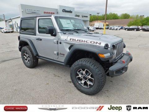 Billet Silver Metallic 2020 Jeep Wrangler Rubicon 4x4