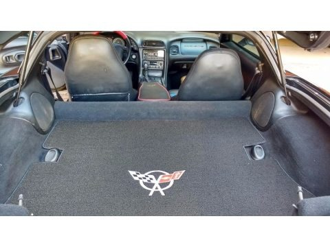 Black 2000 Chevrolet Corvette Coupe