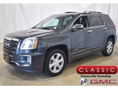 Graphite Gray Metallic 2017 GMC Terrain SLT AWD