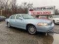 Lincoln Town Car Signature Limited Light Ice Blue Metallic photo #1