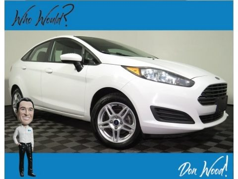 Oxford White 2017 Ford Fiesta SE Sedan
