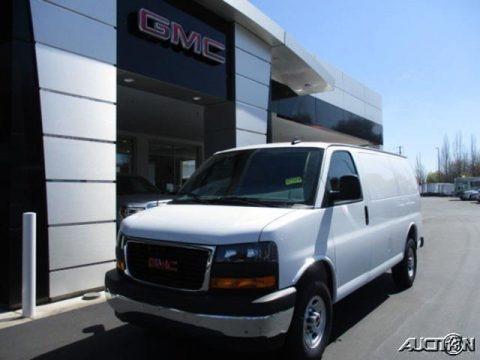 Summit White 2020 GMC Savana Van 2500 Cargo
