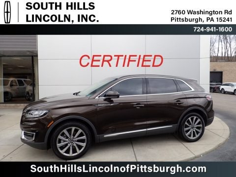 Ochre Brown 2019 Lincoln Nautilus Select AWD