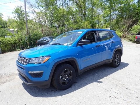 Laser Blue Pearl 2020 Jeep Compass Sport