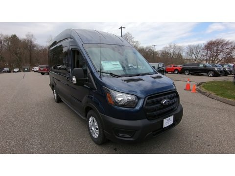 Blue Jeans 2020 Ford Transit Passenger Wagon XL 350 HR Extended
