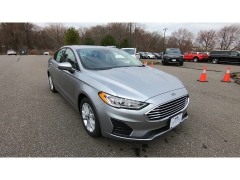 Iconic Silver 2020 Ford Fusion Hybrid SE