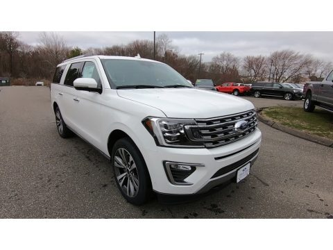 Oxford White 2020 Ford Expedition Limited Max 4x4