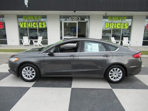 Magnetic 2017 Ford Fusion S