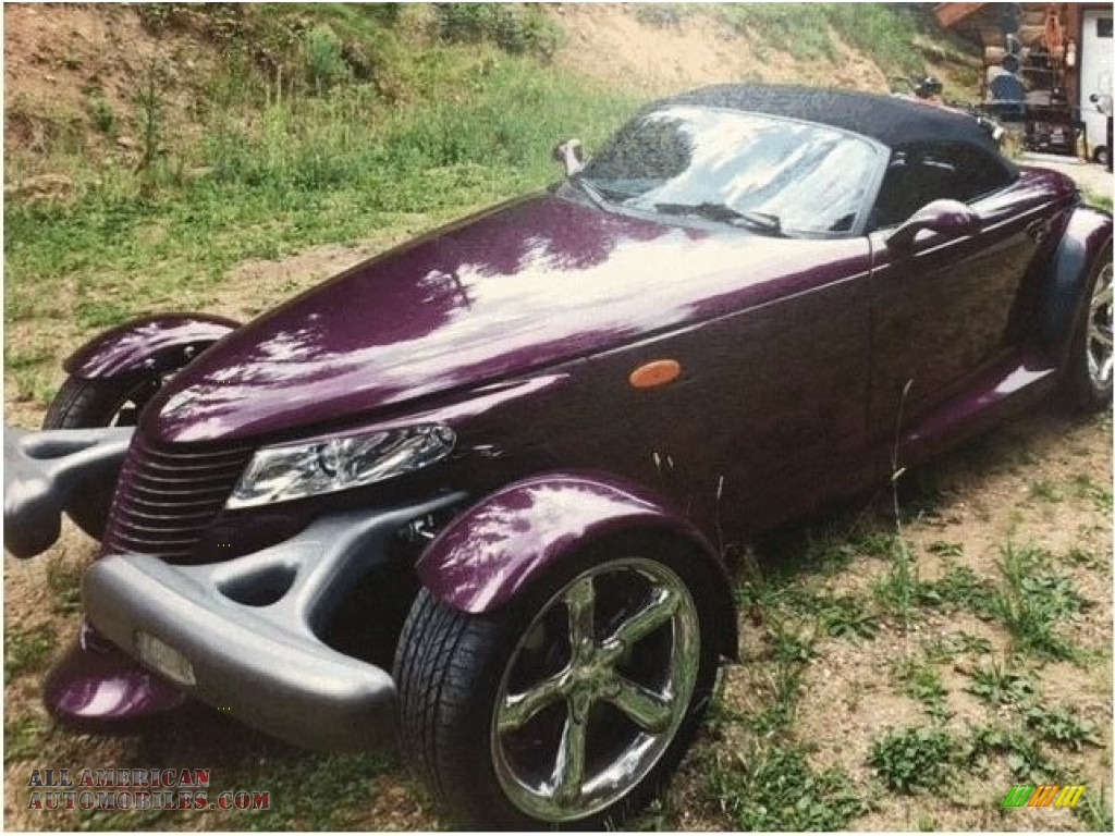 1999 Prowler Roadster - Prowler Purple / Agate photo #1