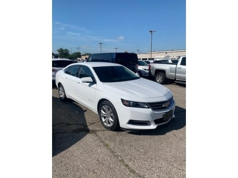 Summit White 2020 Chevrolet Impala LT