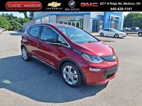 Cajun Red Tintcoat 2020 Chevrolet Bolt EV LT