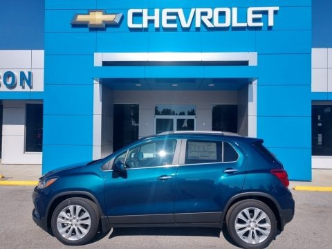 Pacific Blue Metallic 2020 Chevrolet Trax Premier