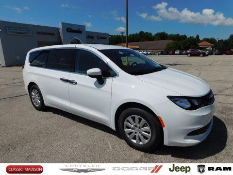 Bright White 2020 Chrysler Voyager L