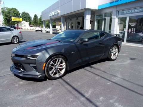 Nightfall Gray Metallic 2017 Chevrolet Camaro SS Coupe