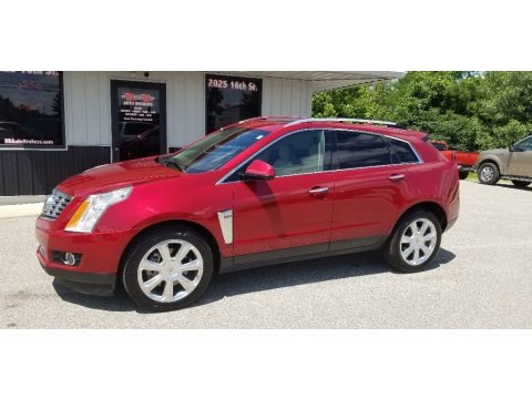 Crystal Red Tintcoat 2013 Cadillac SRX Performance AWD