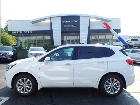 Summit White 2017 Buick Envision Essence AWD