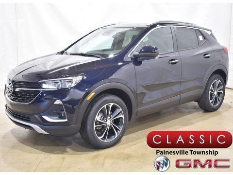 Dark Moon Blue Metallic 2020 Buick Encore GX Select
