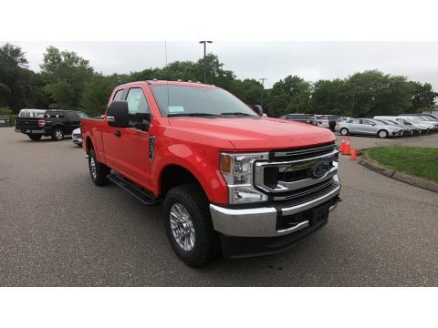 Race Red 2020 Ford F350 Super Duty XL SuperCab 4x4