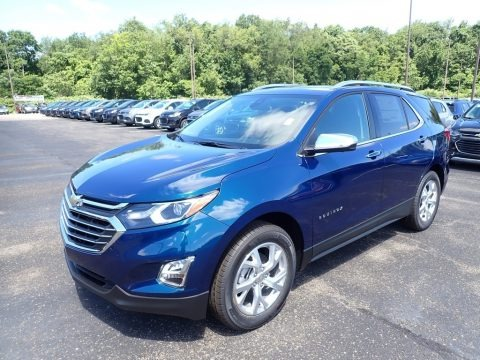 Pacific Blue Metallic 2020 Chevrolet Equinox Premier AWD