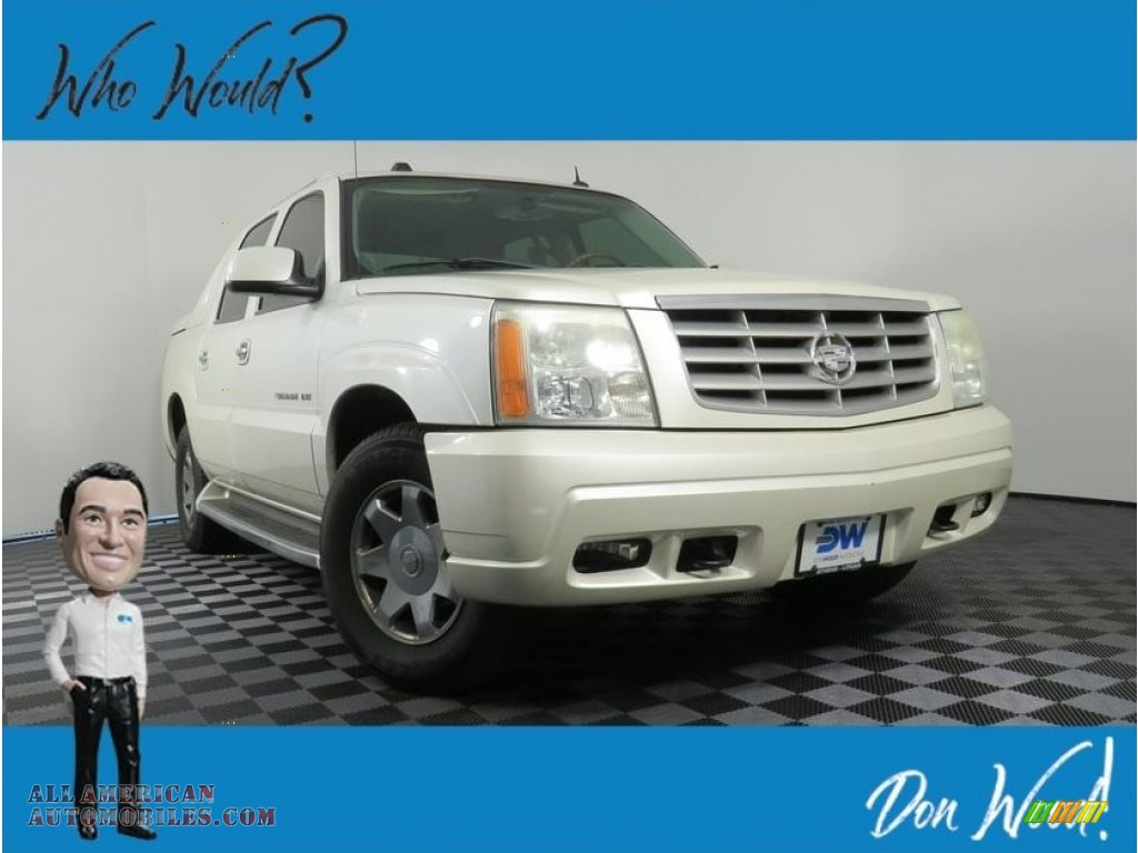 2004 Escalade EXT AWD - White Diamond / Shale photo #1